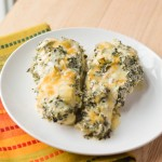 Lighter Spinach & Artichoke Dip Chicken