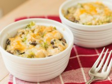 Skinny Chicken & Broccoli Casserole
