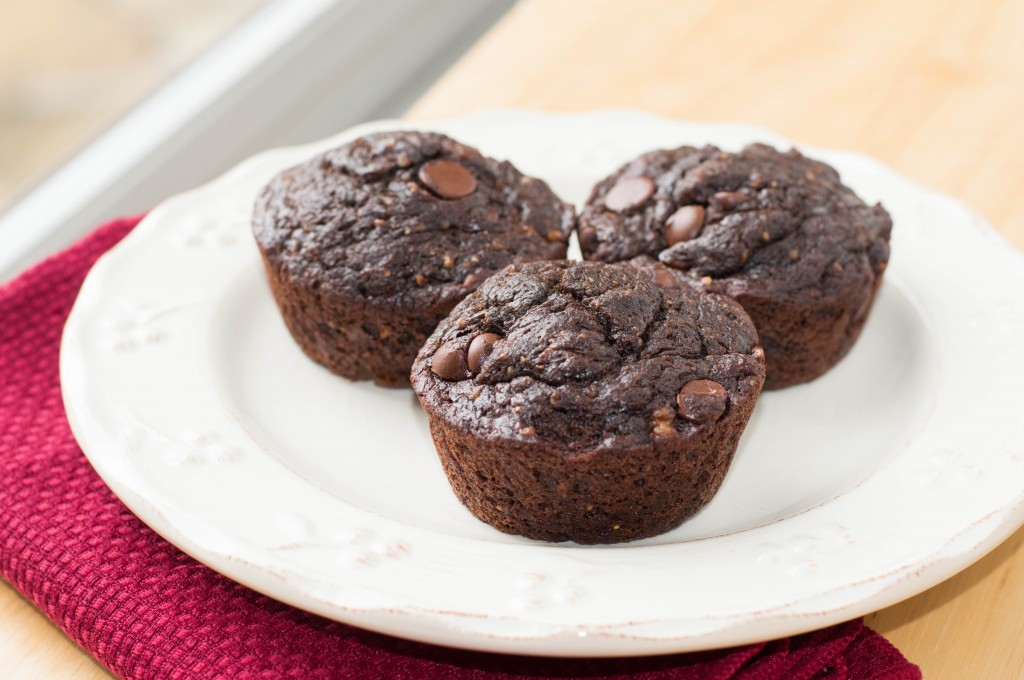 Chocolate Almond Butter Muffins (1 of 4)