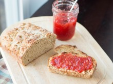 Wheat English Muffin Bread
