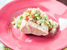 Mahi Mahi with Avocado Salsa