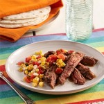 {Guest Post} Carne Asada with Grilled Corn Salsa