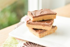No Bake Chocolate Peanut Butter Bars (3 of 4)