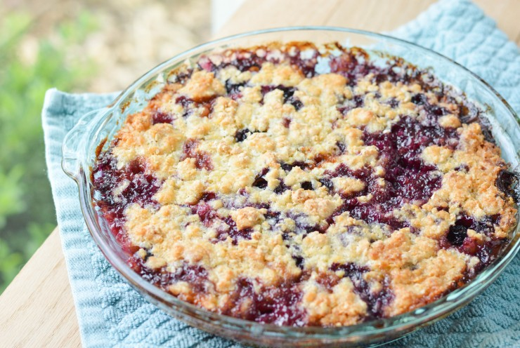 Peach Blueberry Crumble (1 of 7)
