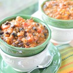 Slow Cooker Black Bean & Pumpkin Chili