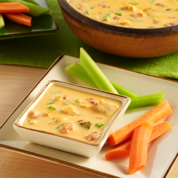 Buffalo Chicken Queso Dip {Guest Post}