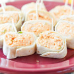 Buffalo Chicken Tortilla Roll-Ups