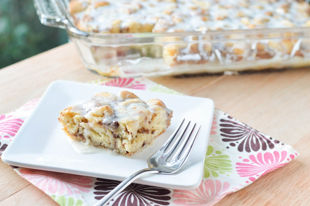 Cinnamon Roll French Toast Bake (2 of 3)