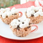 Hot Chocolate Rice Krispie Treats