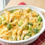 Skinny Chicken Broccoli Alfredo