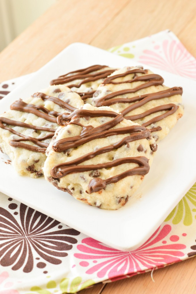 Chocolate Chip Shortbread Cookies (1 of 4)