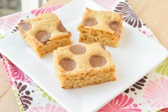 Reese Cup Blondies  (2 of 4)