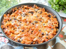 Chicken & Black Bean Enchilada Skillet
