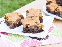 Brownie Chocolate Chip Cookie Bars (Brookies)