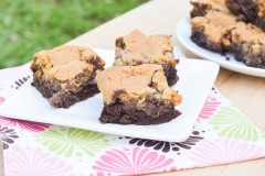 Brownie Chocolate Chip Cookie Bars (5 of 7)