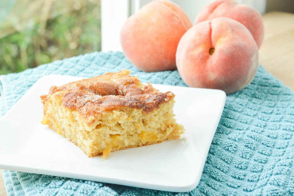 Fresh Peach Cake (2 of 2)