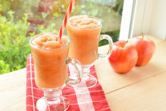 Caramel Apple Slushie