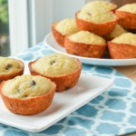 Chocolate Chip Buttermilk Banana Bread Muffins