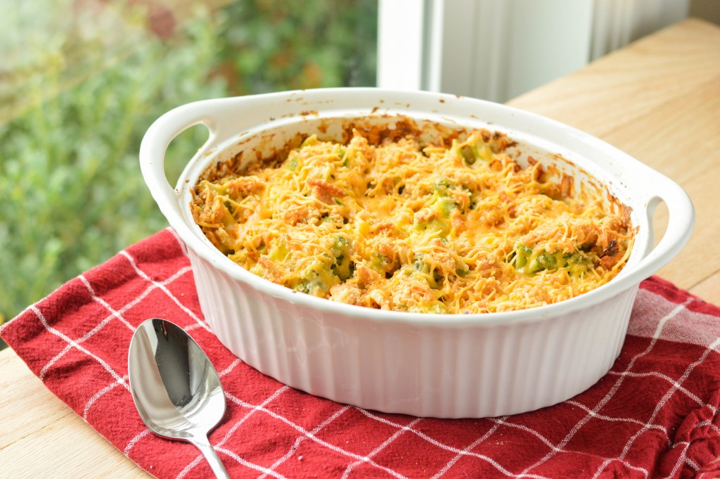 Broccoli Casserole from Scratch {Macaroni and Cheesecake}