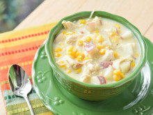 Quick Chicken Corn Chowder