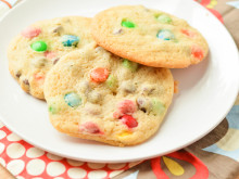 Disney World Chocolate Chip M&M Cookies