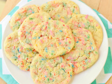 Soft Batch Funfetti Cookies