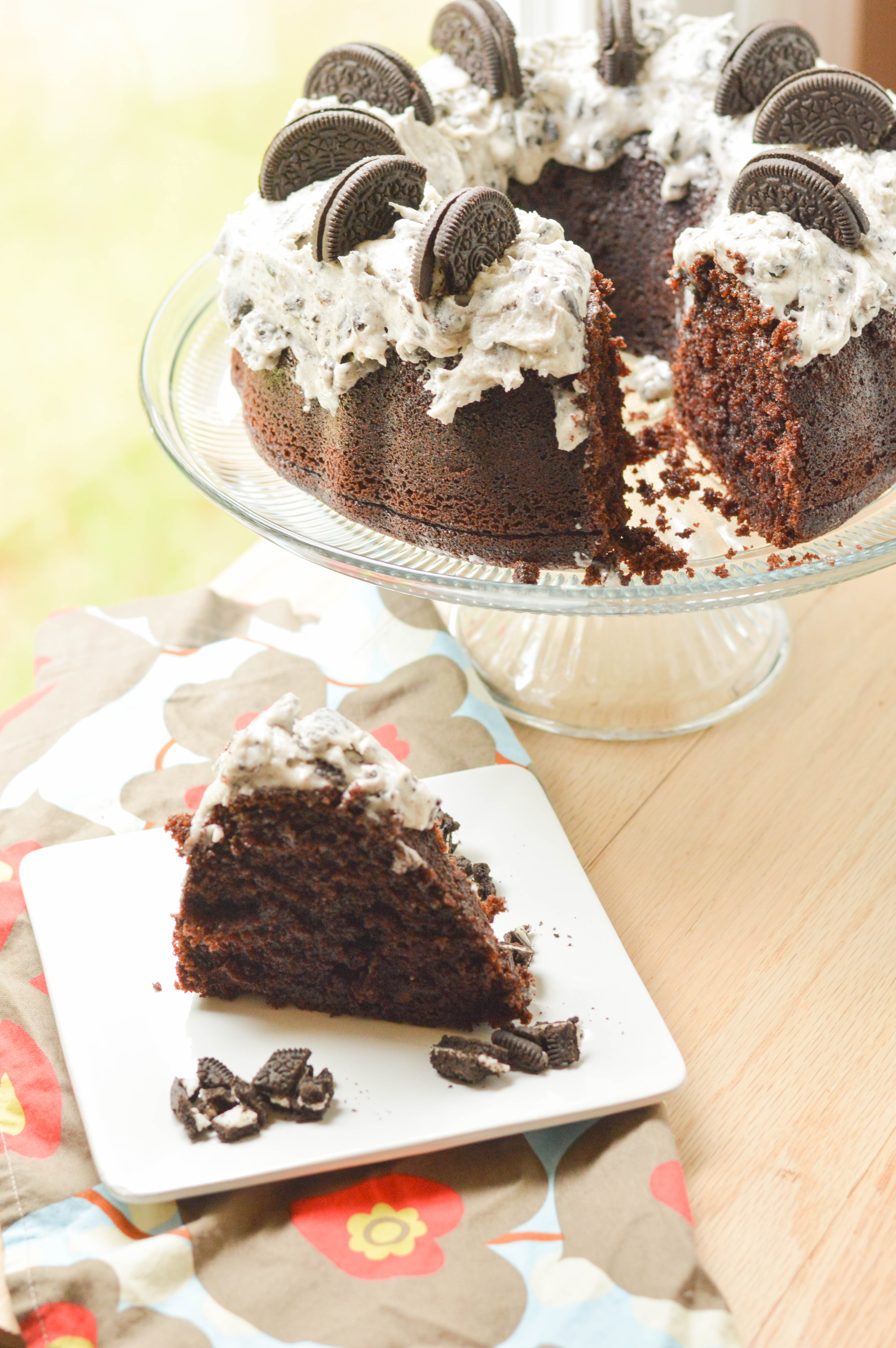 Chocolate Oreo Bundt Cake Macaroni And Cheesecake