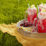 Sparkling Cherry Fro-Yo Float {Guest Post}