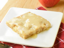 Caramel Apple Sheet Cake