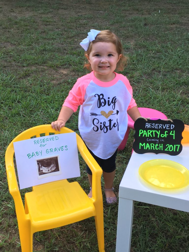 Big Announcement! {Party of 4}