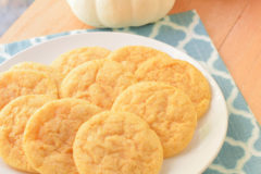 Pumpkin Sugar Cookies {Macaroni and Cheesecake}