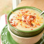 Slow Cooker Loaded Potato Soup