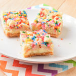 Sugar Cookie Cheesecake Bars