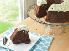 Chocolate Chocolate Chip Cake {Nothing Bundt Cakes Copycat}