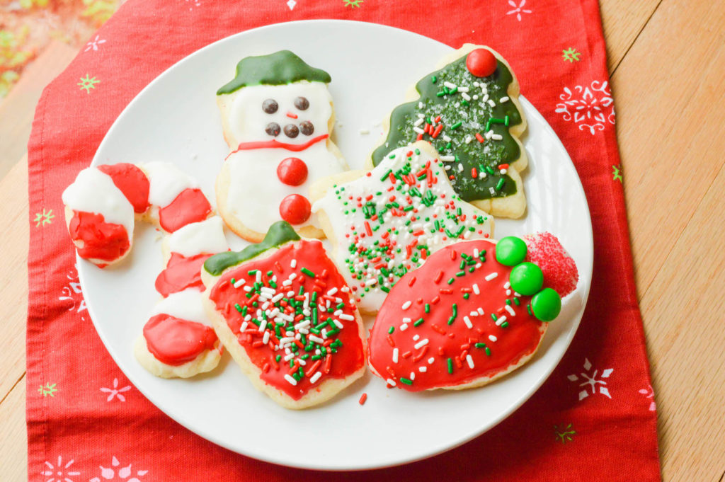 Best Ever Cut Out Sugar Cookies & Icing - Macaroni and ...