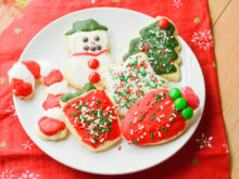 Best Ever Cut Out Sugar Cookies & Icing