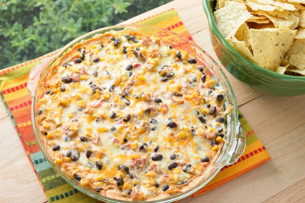 Hot Black Bean Amp Corn Dip Macaroni And Cheesecake
